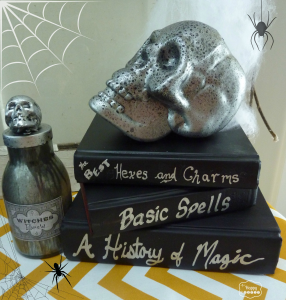 DIY Spell Books and Potion Bottles