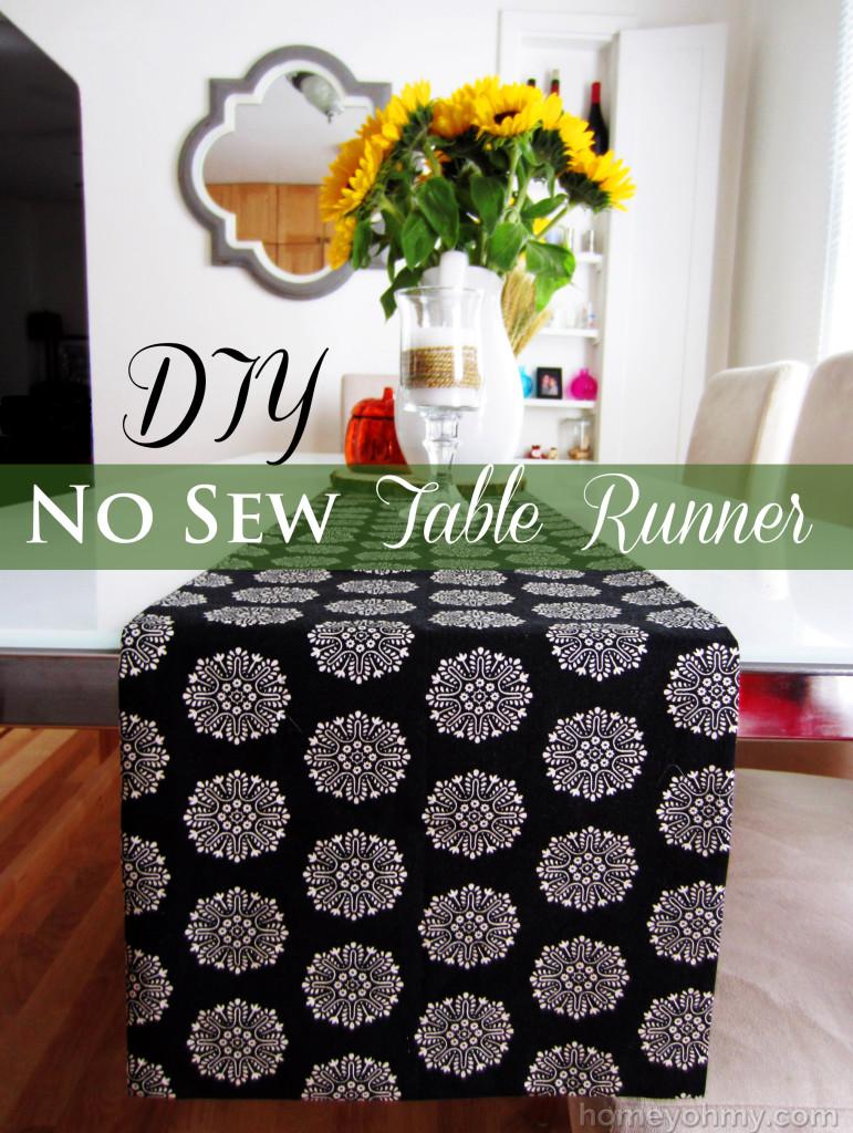 DIY-No-Sew-Table-Runner