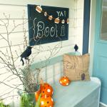 Spooktastic Front Porch