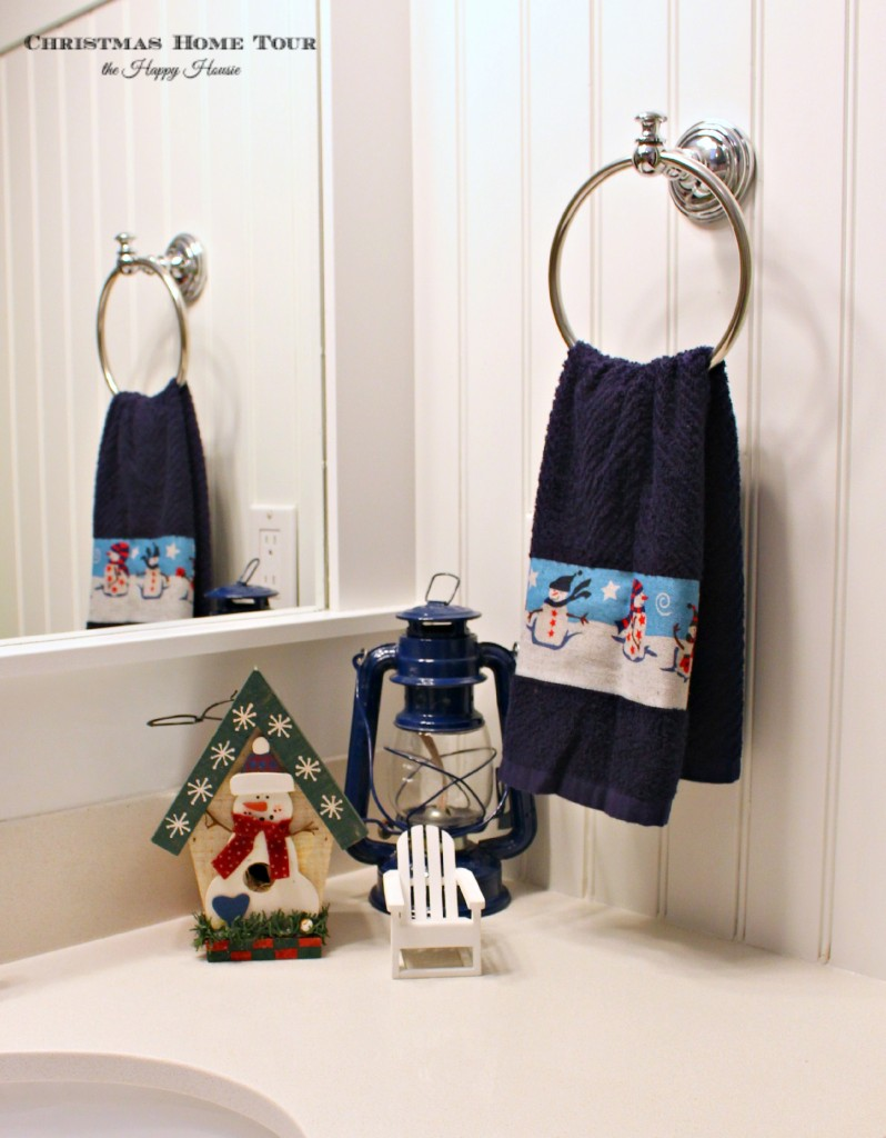 The Happy Housie Christmas Home Tour boys bathroom