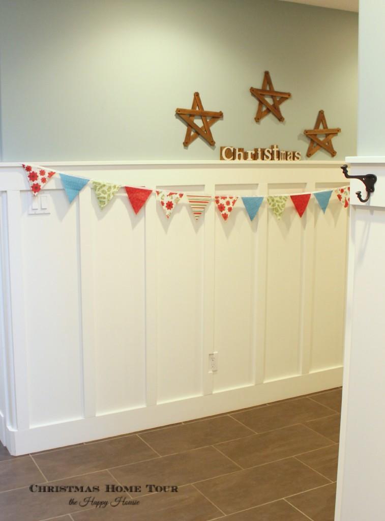 The Happy Housie Christmas Home Tour hallway