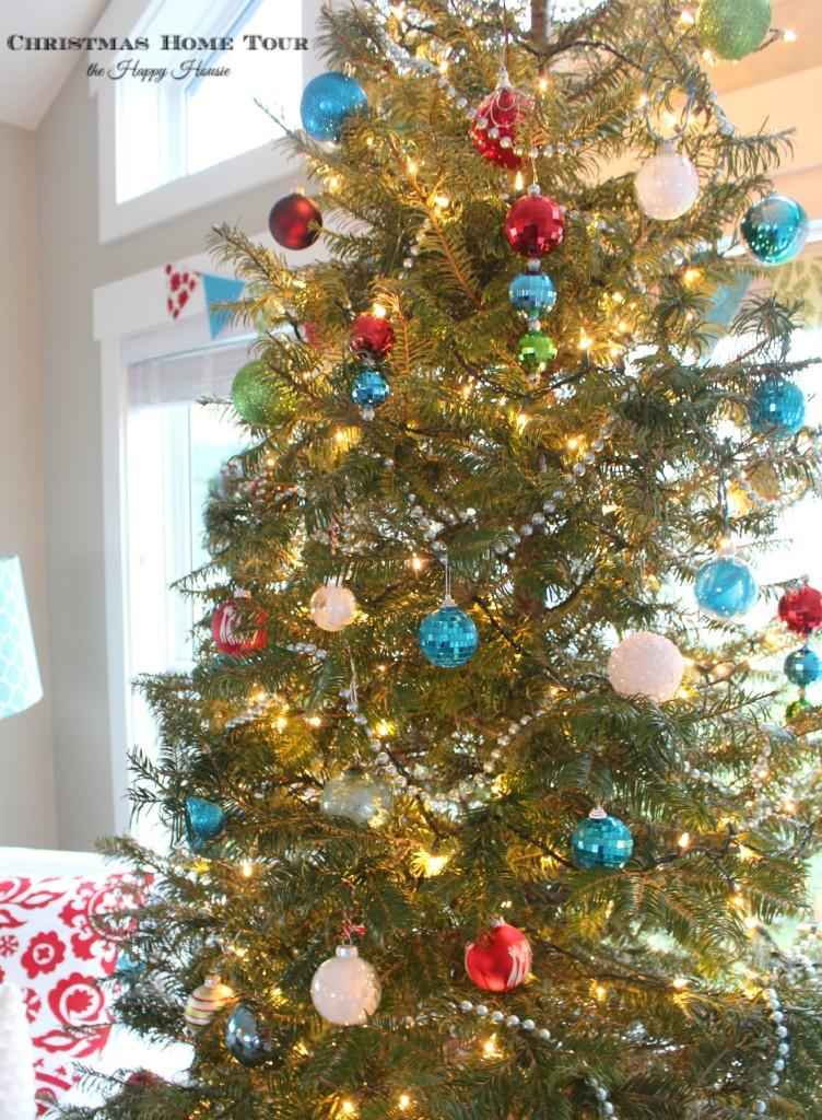 The Happy Housie Christmas Home Tour tree