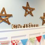 Rustic Paint Stick Stars