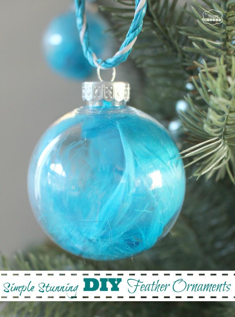 Glass Pinecone Christmas Ornaments