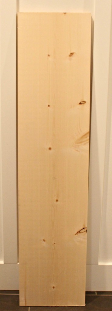 The Happy Housie plain pine board