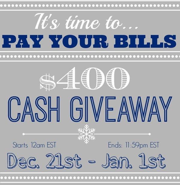 Christmas Home Tours Recap and a Big Cash GIVEAWAY!