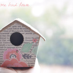 Simple Spring Time Bird House