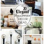 20 Elegant Halloween Decor Ideas