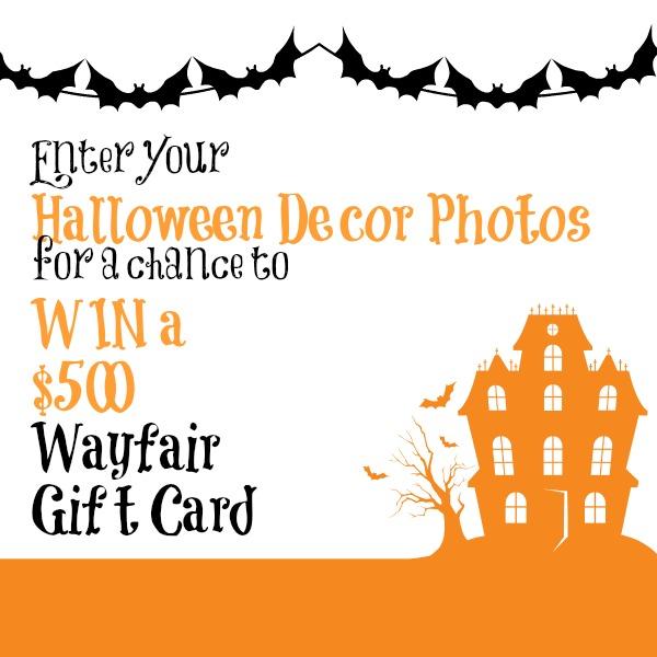 Happy Halloween {& Win a $500 Wayfair Gift Card}