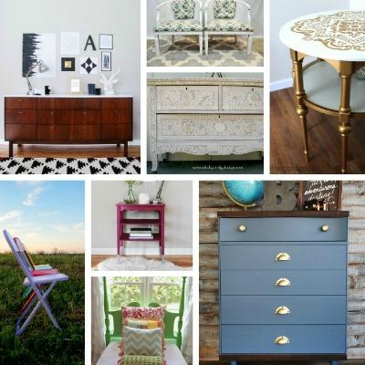 20 Stunning Furniture Revivals {DIY Challenge Features}