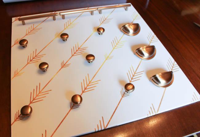 Cabinet Hardware Jewelry Organizer-3