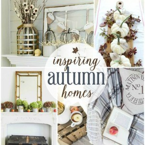 Inspiring Autumn Home Decor Ideas {Work it Wednesday}