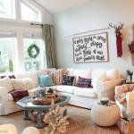 2015 Christmas Living & Dining Room