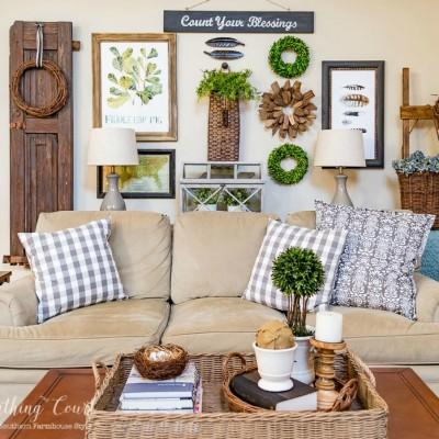 10 Fanastic Farmhouse Style Decor & DIY Ideas {Work it Wednesday}