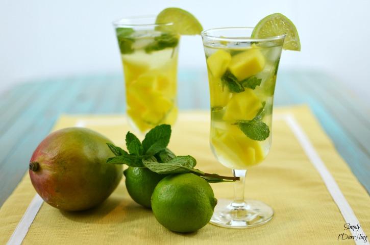 Sweet Summer Sips mango-mint-mojito