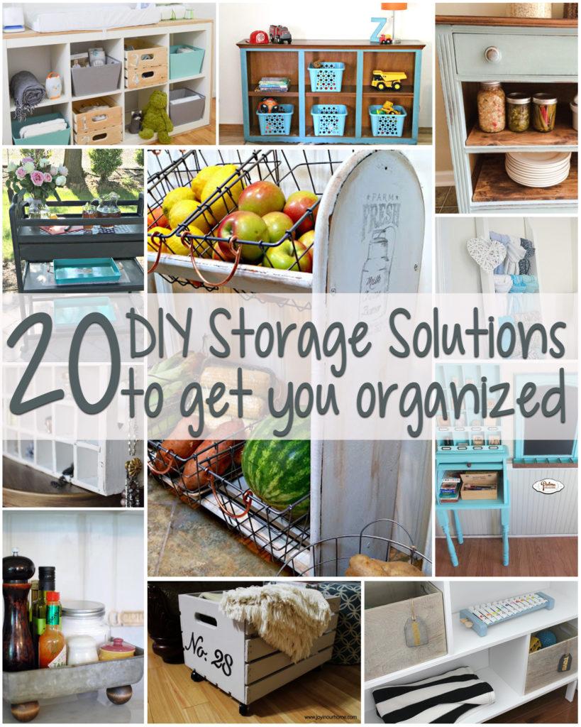 20 Super Creative DIY Storage Solutions