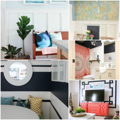 Coastal, Cottage, & Farmhouse Style Wall Treatment Ideas that aren't Shiplap