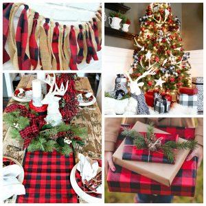 Buffalo Check Christmas Style