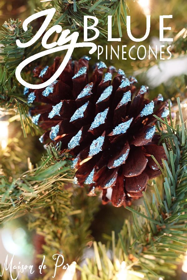 blue-glitter-pinecones