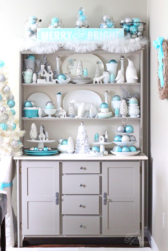 blue-silver-christmas-hutch