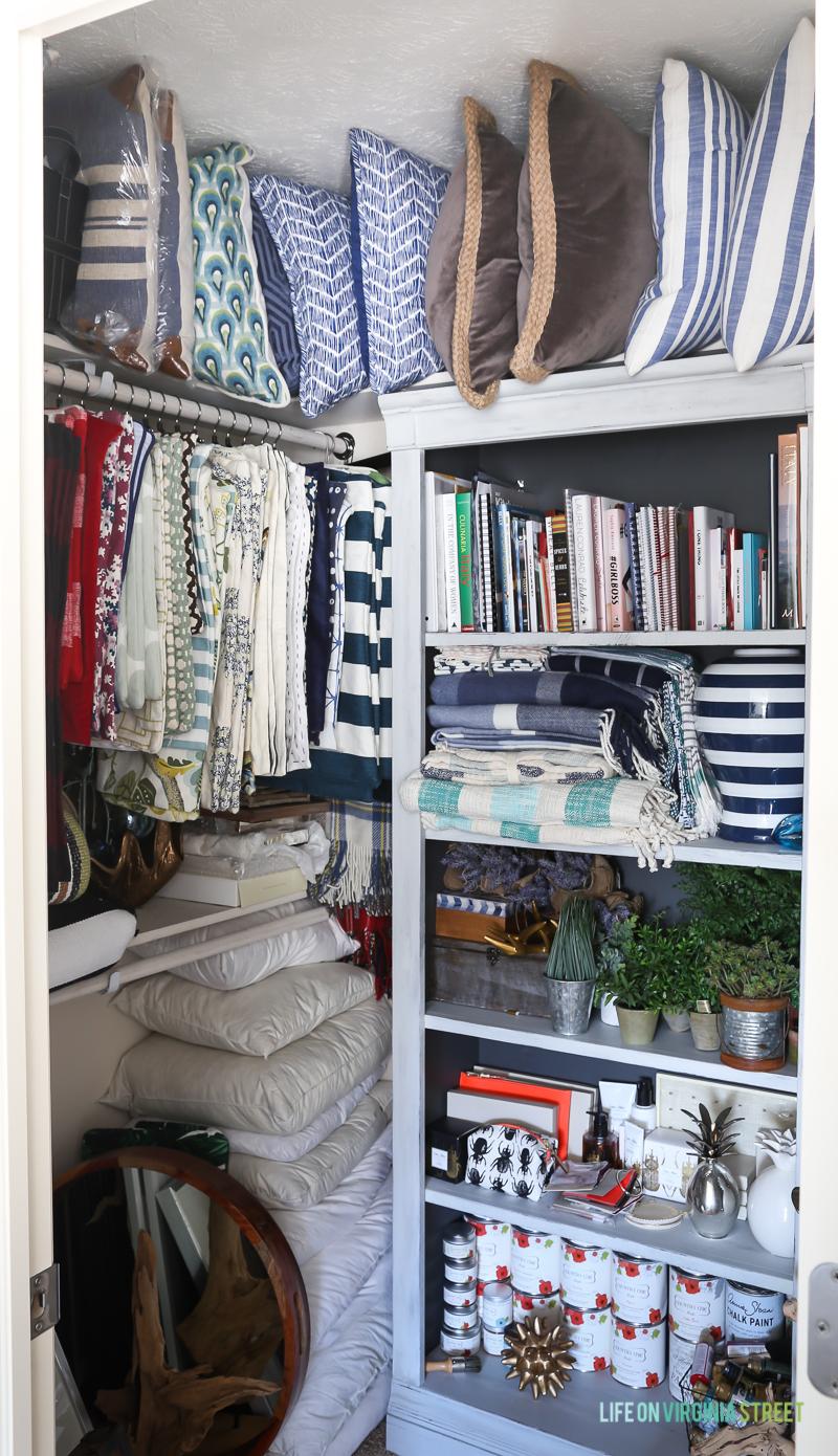Craft room organization ideas - Craft Decor Storage And Organization Via Life On Virginia Street