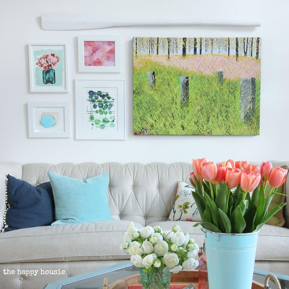 DIY Fine Art Gallery Walls