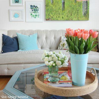 Seasonal Simplicity Spring Home Tour