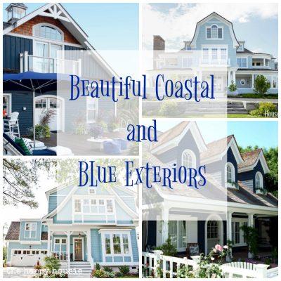 Beautiful Coastal & Blue Exteriors