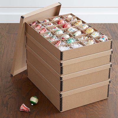 Genius Ideas for Storing & Organizing Christmas Decor