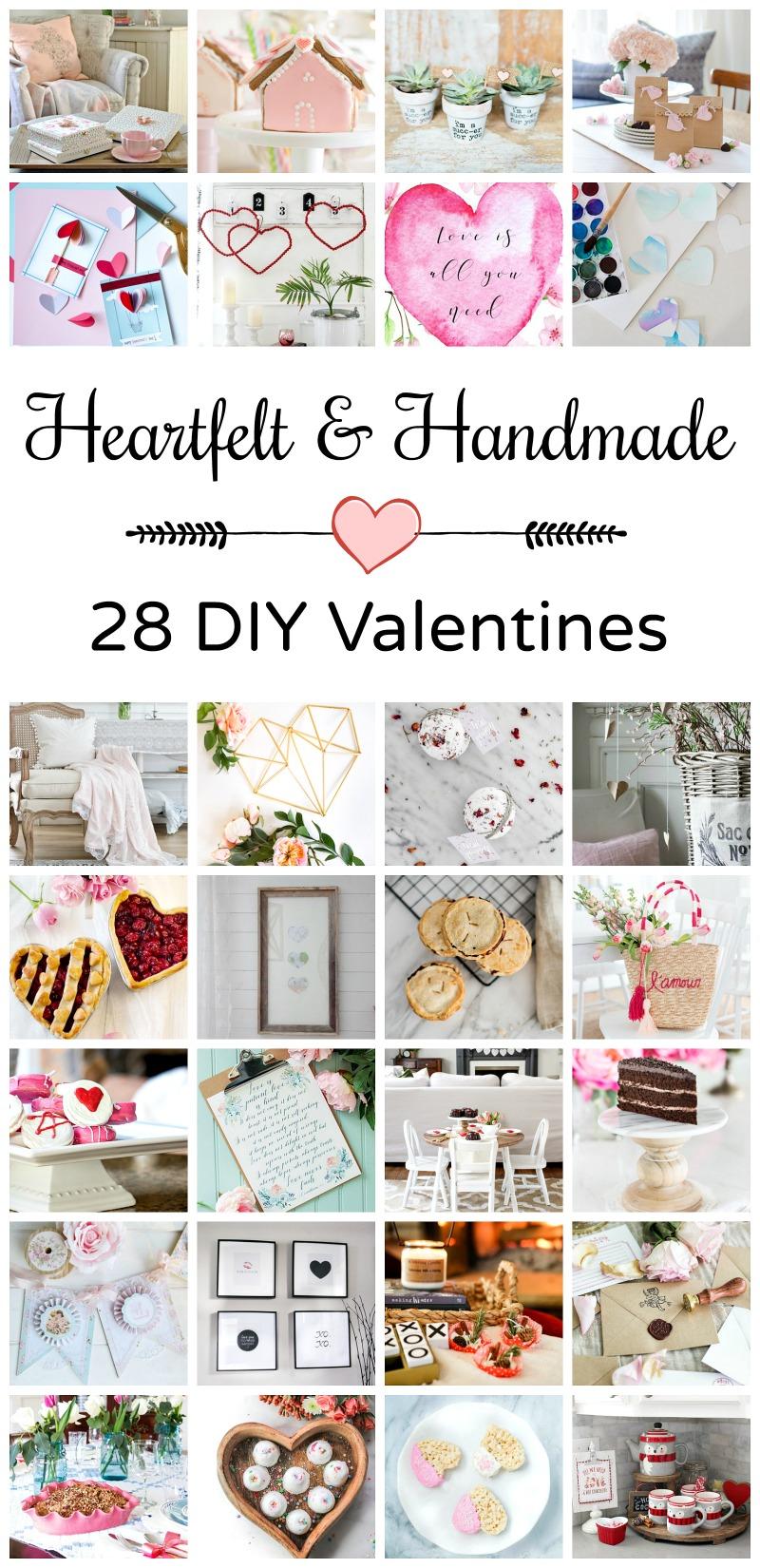 Heartfelt & Handmade 28 Valentines.
