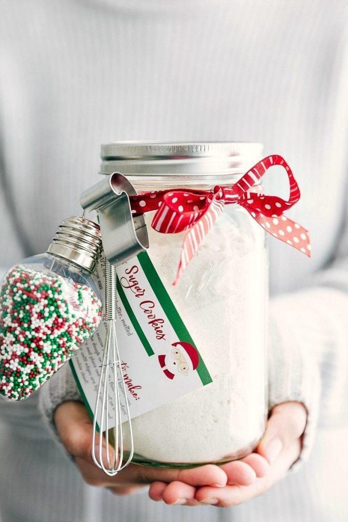 Sugar Cookie Mason jar