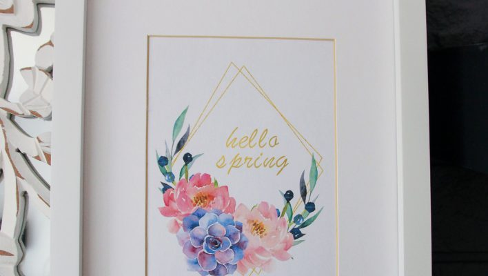 Free Printable Art for Spring
