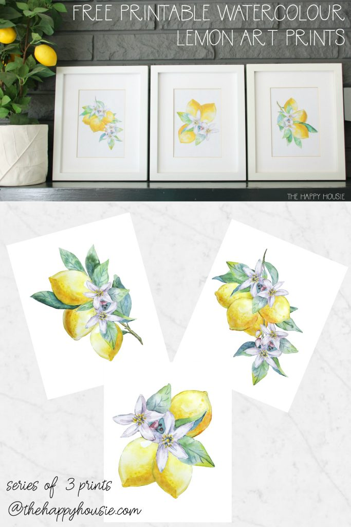 Free Printable Watercolour poster.