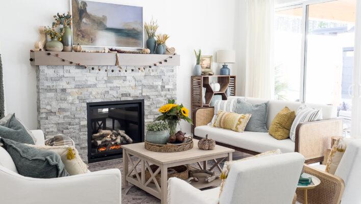 Warm Earthy Rustic Fall Home Decor Ideas