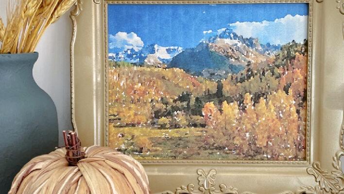 Free Printable Fall Landscape Art